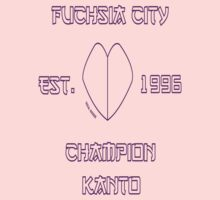 Fuchsia City Champion: Pokemon Kanto by MikeCotopolis