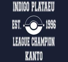 Indigo Plateau League Champion: Pokemon Kanto  by MikeCotopolis