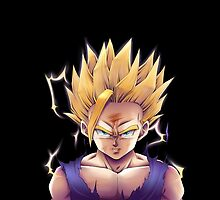 Dragon Ball Z Teen Gohan SSJ2  by HotTuna