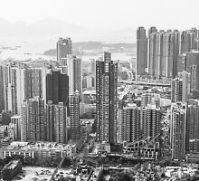 Kwai Chung, Kowloon, Hong Kong by Dean Bailey