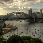 Sydney Harbour Morning - The HDR Experience by Philip Johnson