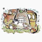 Totoro by CopperChoc