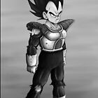 Vegeta by Joey Kuipers