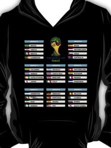 World Cup 2014 Group Stage T-Shirt
