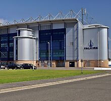 Falkirk Football Stadium by Escocia Photography