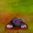 Star Nosed Mole by Kitty Rispens