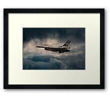 F16 Tiger Framed Print