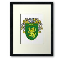 Duffy Coat of Arms/Family Crest Framed Print
