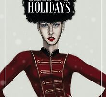 Happy Holidays- Card by gaarte