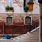 A Little Venetian Corner by Rae Tucker