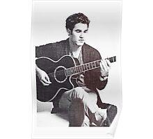 Darren Criss with Guitar Poster