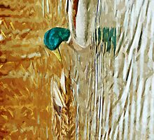 Mallard Ducks Swimming Abstract Impressionism by pjwuebker
