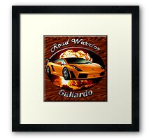 Lamborghini Gallardo Road Warrior Framed Print