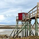 After the Flood, Carrelet on Ile Madame, Charente Maritime, France by 7horses