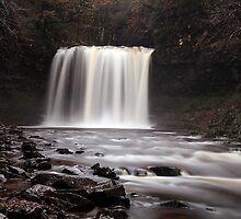 Sgwd yr Eira Waterfall by ttrendell77