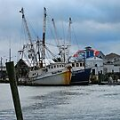 Old Trawlers by Gordon  Beck