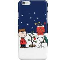 Charlie Brown Chrismas iPhone Case/Skin