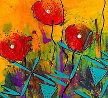 Poppies II by © Angela L Walker