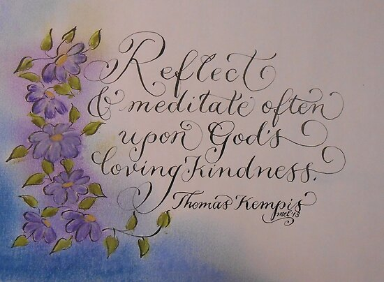 """Meditate Often"" by Melissa Goza"