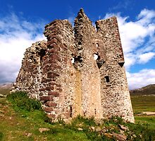 Ruin on the Loch by kalaryder