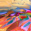 graffiti abstract 3 by DARREL NEAVES