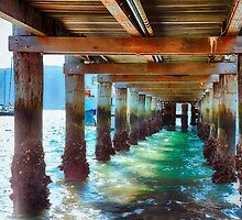 under the pier by darqfocus