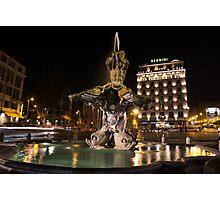 Rome's Fabulous Fountains - Bernini's Fontana del Tritone Photographic Print
