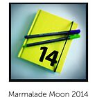 The Marmalade Moon Calendar 2014 by marmalademoon