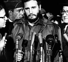 Fidel Castro - MATS Terminal, Washington 1959 by boogeyman