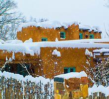Santa Fe Snowstorm by Darryl Brewer