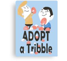 tribble adoption Canvas Print