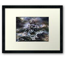 The Rage of Poseidon III Framed Print