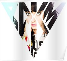 Katy Perry posing Prism Poster