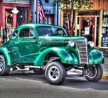 Old Chevy Gasser by Tony  Bazidlo