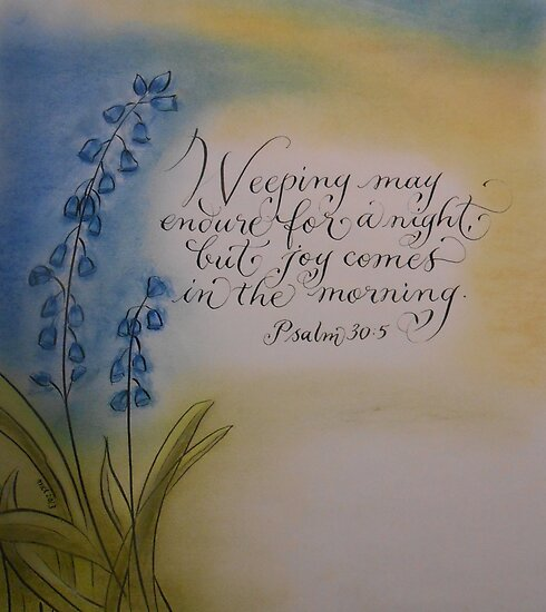 """Joy Comes in the Morning"" by Melissa Goza"