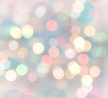 Pastel Bokeh Lights by afeimages