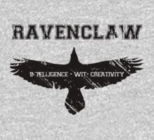 Ravenclaw (black) by K- kipper