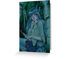 In the wood Greeting Card