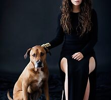 Lorde and Dog by buymyshit