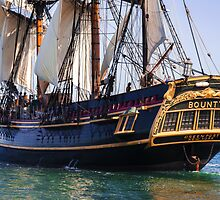 HMS Bounty Tall Ship by boogeyman
