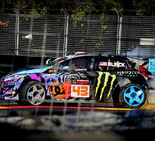 Ken Block Comic Book by SteveMoorby