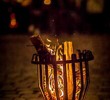 By the Firelight  by Boston Thek Imagery