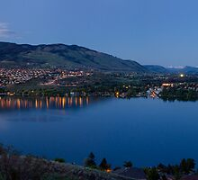 Evening Panorama of Kalamalka Lake  by Michael Russell