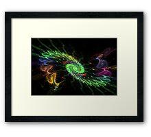 Galactic Rainbow Framed Print
