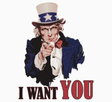 Uncle Sam I Want You (Original) Vectror by SteliosPap92