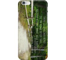 Anne Shirley Bend Road iPhone Case/Skin