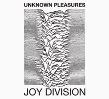 Unknown Pleasures - Joy Division (White) by Dotbar