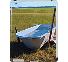 Outdoor pool | conceptual photography iPad Case/Skin
