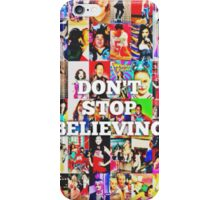 Glee-Don't Stop Believing Collage iPhone Case/Skin