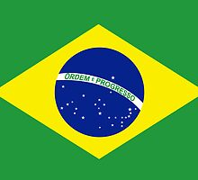 Flag of Brazil by boogeyman